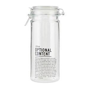 House Doctor Optional Content Säilytyspurkki 1300ml Lasi