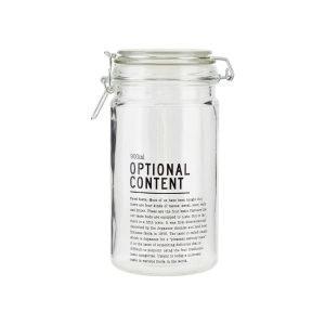 House Doctor Optional Content Säilytyspurkki 900ml Lasi