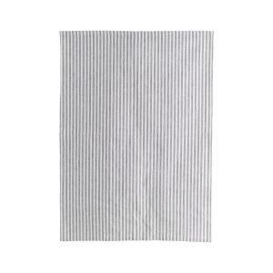 House Doctor Polly Stripe Keittiöpyyhe Valkoinen / Harmaa 70x50 Cm