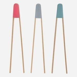 House Doctor Tweezers Tarjoiluottimet kolmenvärisenä 28 cm