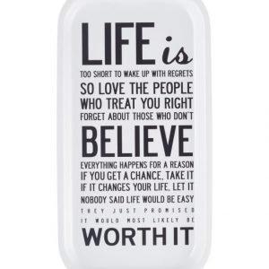 I Love Design Life Is Tarjotin
