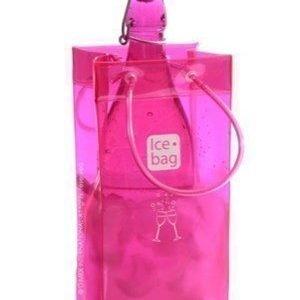 Ice Bag Ice bag gaga pink - Viininjäähdytin kassi