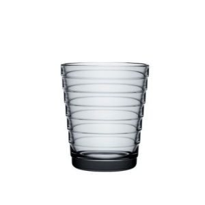 Iittala Aino Aalto juomalasi 22 cl harmaa 2 kpl