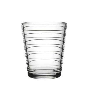 Iittala Aino Aalto juomalasi 22 cl kirkas 2 kpl
