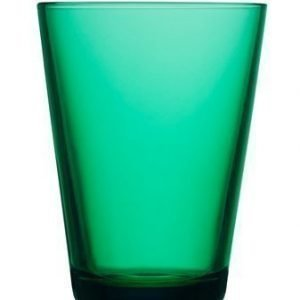 Iittala Kartio Juomalasi 40 cl smaragdi 2 kpl