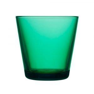 Iittala Kartio Juomalasi Smaragdi 21 Cl 2-Pakkaus