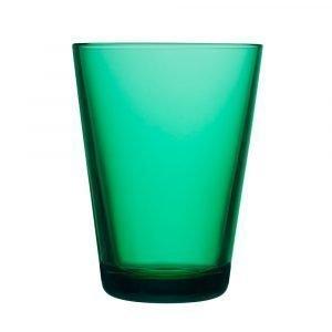 Iittala Kartio Juomalasi Smaragdi 40 Cl 2-Pakkaus