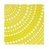 Iittala Kastehelmi servetti 33 cm keltainen