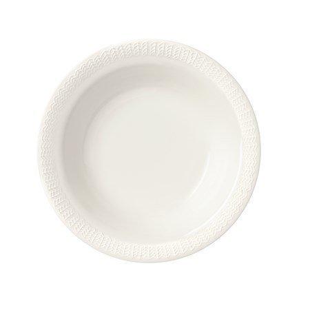 Iittala Sarjaton Syvä lautanen Letti 22 cm valkoinen