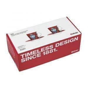 Iittala Taika Espressokuppi Ja Asetti 10 Cl 2-Pakkaus