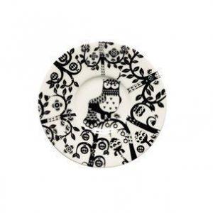 Iittala Taika Espressolautanen 11 cm musta
