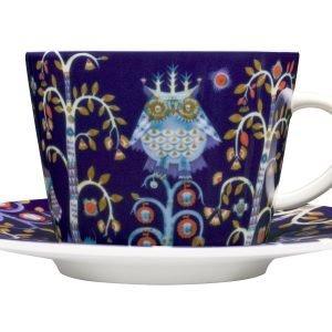 Iittala Taika Kahviastiat Sininen 8-Osainen