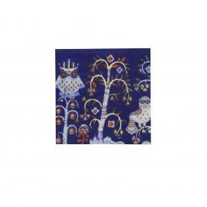 Iittala Taika Paperiservetti Sininen 33x33 Cm 20 Kpl