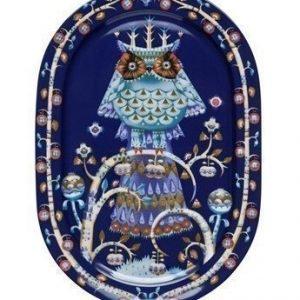Iittala Taika Tarjoilulautanen 41 cm sininen