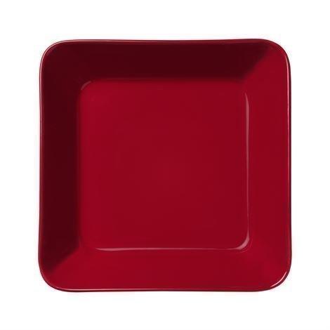 Iittala Teema Lautanen 16x16 cm Punainen