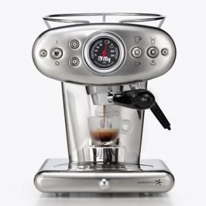 Illy X1 E & C 60247il Espressokone Hopea
