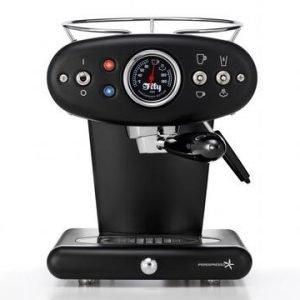 Illy X1 E & C 60248il Espressokone Musta