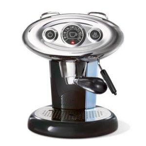 Illy X1 E & C 6603il Espressokone Musta
