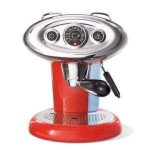 Illy X1 E & C 6604il Espressokone Punainen
