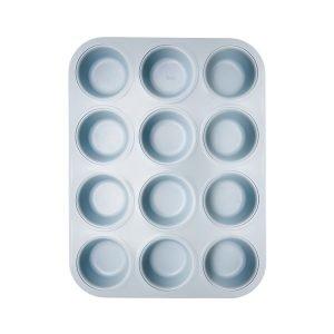 Imk Utensils Muffinssivuoka Non Stick Sininen 12 Kpl