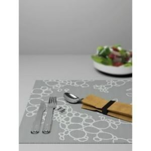 Italesse Placemat Tabletti Musta Kupla