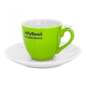 Jellybean Espressokuppi Limenvihreä 2-Pakkaus