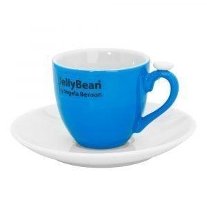 Jellybean Espressokuppi Sininen 2-Pakkaus