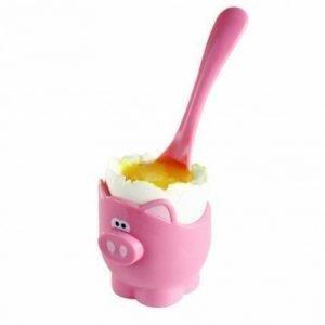 Jo!e Oink Oink Cup & Spoon