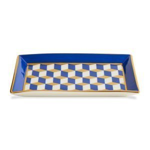 Jonathan Adler Versailles Rectangle Vati Sininen