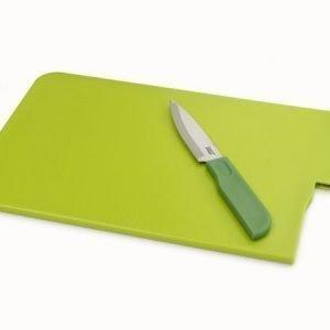 Joseph Joseph leikkuulauta ja veitsi