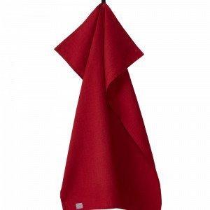 Jotex Hedda Keittiöpyyhe Punainen 1-Pakkaus
