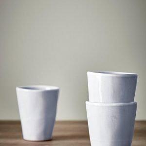 Jotex Sand Kahvikupit Valkoinen 2-Pakkaus