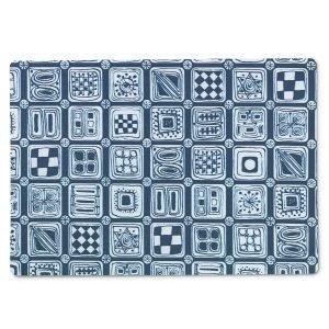 Juna Squares Pöytätabletti Sininen 30x43 Cm