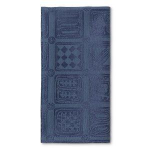 Juna Squares Servett Sininen 45x45 Cm 4-Pakkaus