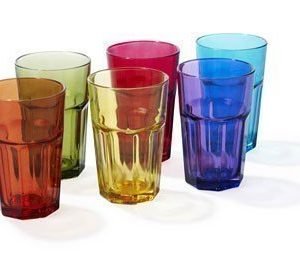Juomalasi 30cl Aras erivärisiä