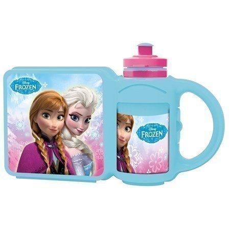 Juomapullo + Eväslaatikko Frozen