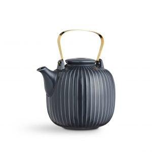 Kähler Hammershöi Teekannu Antrasiitinharmaa 1.2 L
