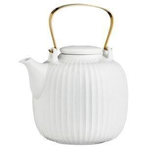 Kähler Hammershøi Teekannu Valkoinen