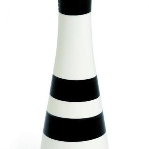 Kähler Omaggio Kynttilänjalka Musta 24 Cm