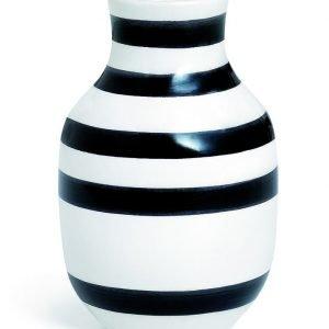 Kähler Omaggio Maljakko Musta 12.5 Cm