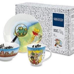 Könitz Asterix Hihi! Haha! Hoho! Lahjapakkaus 3-Osainen