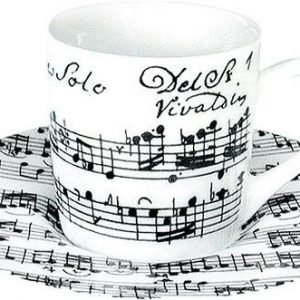 Könitz Vivaldi Libretto Espresso Kuppisetti