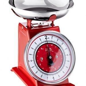 Küchenprofi Keittiövaaka Punainen