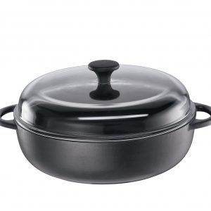 Küchenprofi Valurautapaistokasari Musta Ø 24 Cm