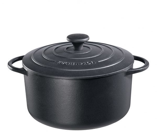 Küchenprofi Valurautapata Provence Pyöreä Musta 26 Cm