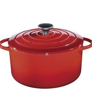Küchenprofi Valurautapata Provence Pyöreä Punainen 26 Cm
