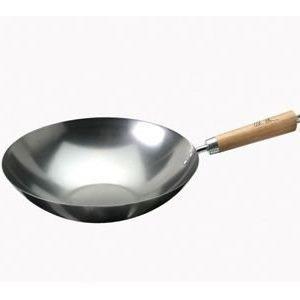 KEN HOM hiiliteräksinen wok-pannu 31 cm