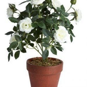 KJ Collection Kukka Ruusu Valkoinen 33 cm