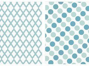 KJ Collection Lautasliina Merensininen 33x33 cm 20-pack