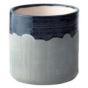 KJ Collection Ruukku Keramiikka Sininen/Harmaa 15 cm